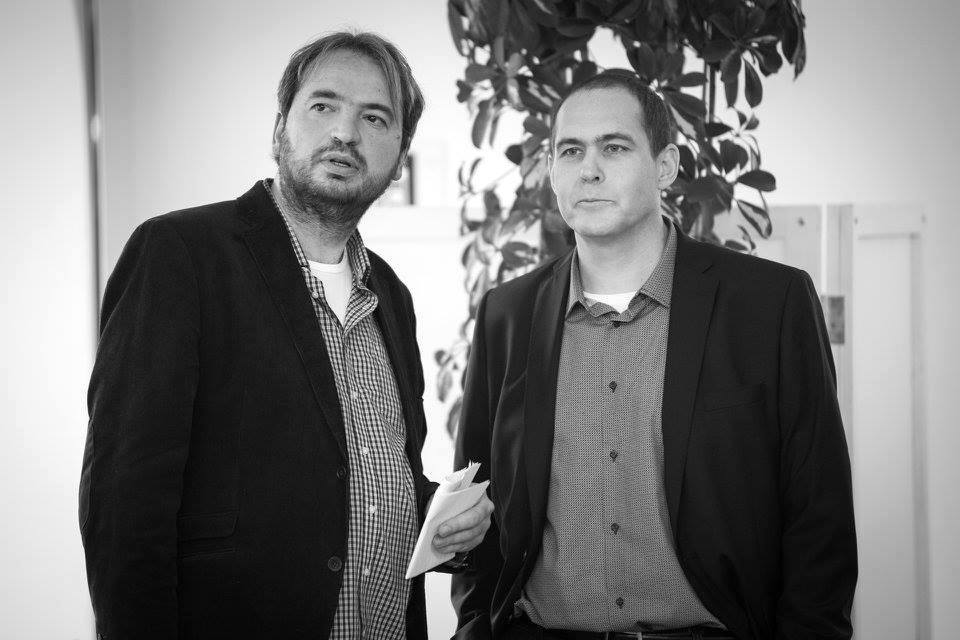 Jan Dražan (vlevo) a Jan Pergler