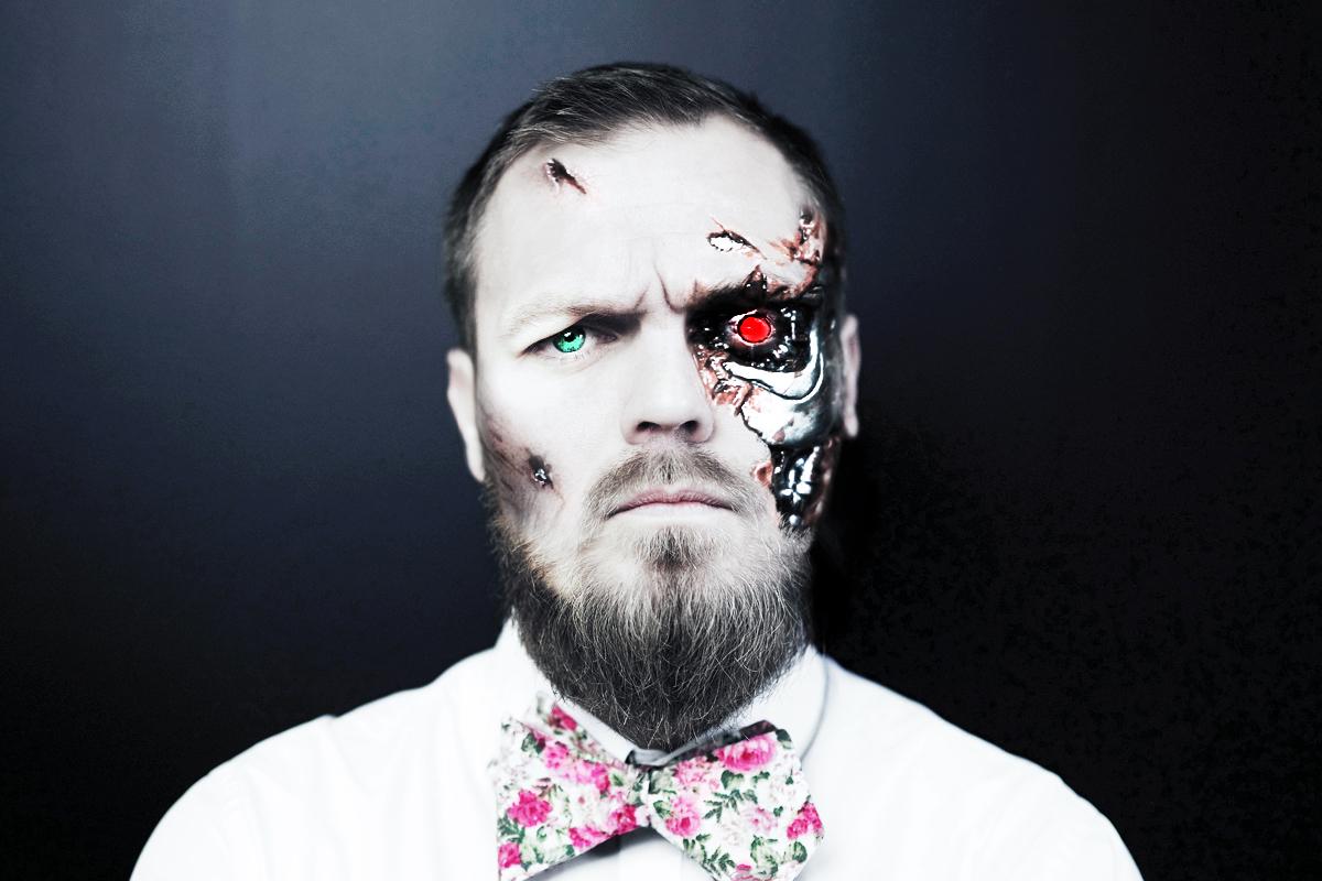 Jan Jelínek jako robot-kreativec