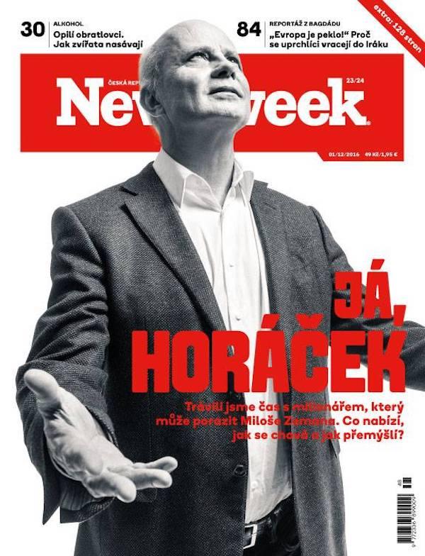 Poslední číslo Newsweeku v češtině