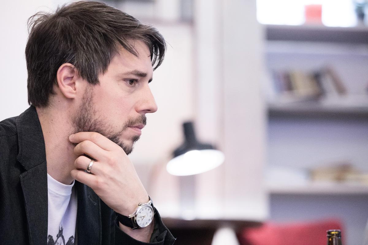 Robert Haas. Foto: Mikuláš Křepelka