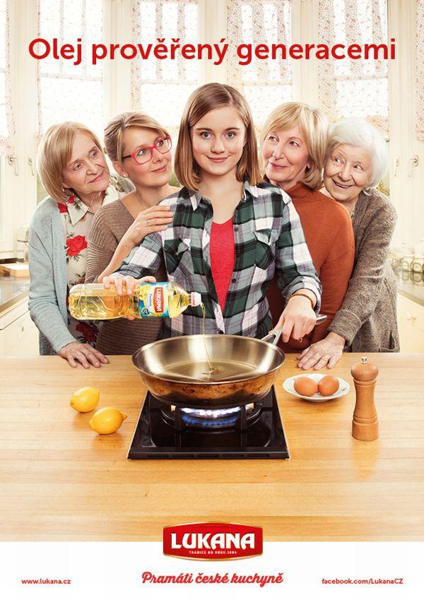 Nová kampaň značky Lukana představí pět generací žen jedné rodiny
