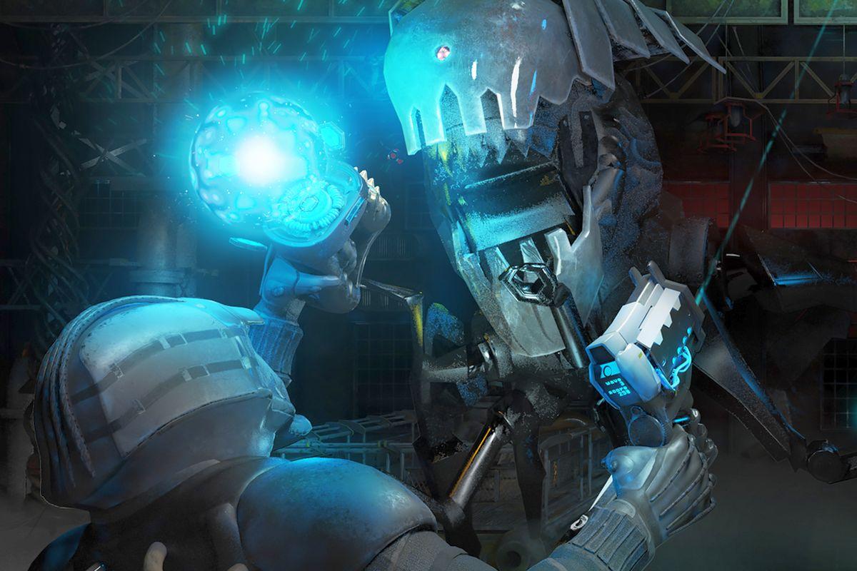 Hra Blue Effect, odehrávající se v prostředí cizí planety, je projektem české agentury Divr