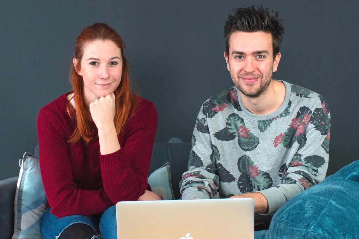 Tereza Hažmuková a Daniel Krásný