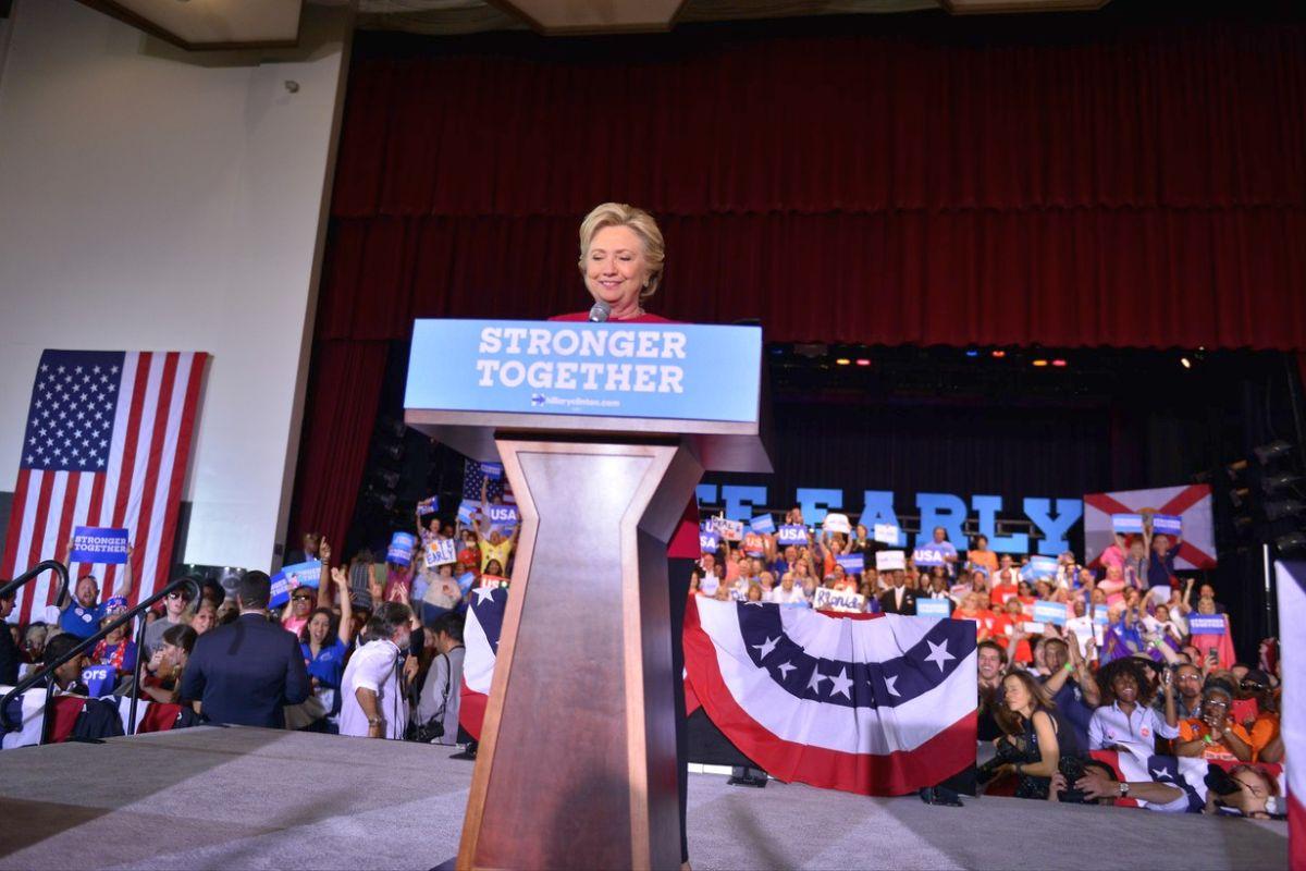 Neúspěšná kampaň Hillary Clintonové. Ilustrační foto: Profimedia