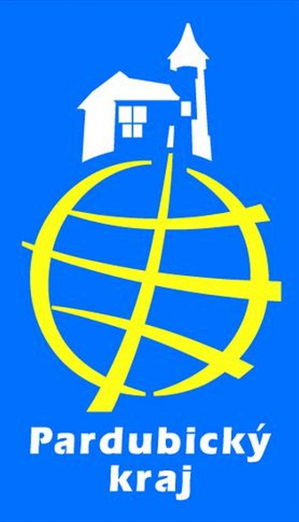 Jedna z variant původního loga Pardubického kraje