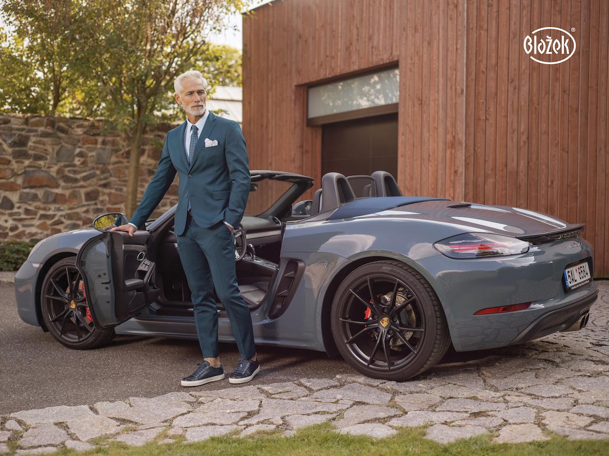Porsche a Blažek