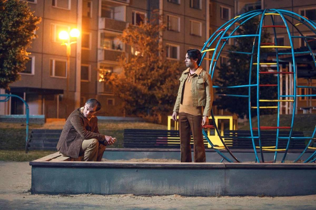 Svět pod hlavou: Ivan Trojan a Václav Neužil. Foto: Česká televize