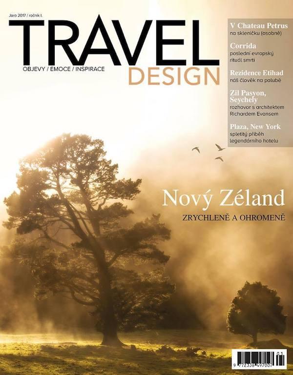 První číslo čtvrtletníku Travel Design