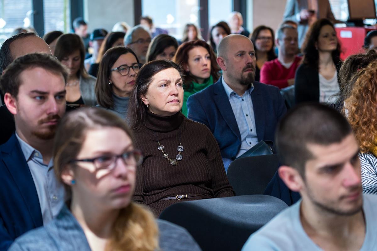 Návštěvníci čtvrtého PR Brunche. Foto: Vojta Herout