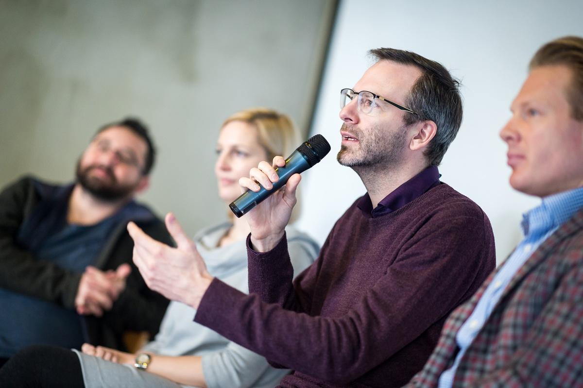 Závěr PR Brunche patřil panelové diskusi. Foto: Vojta Herout