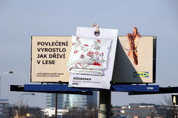 Ikea komunikuje trvale udržitelný rozvoj