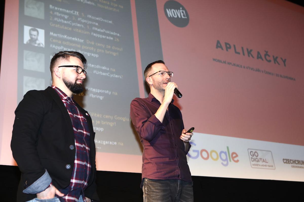 Nakonec jsme představili Aplikačky. Foto: Tomáš Pánek