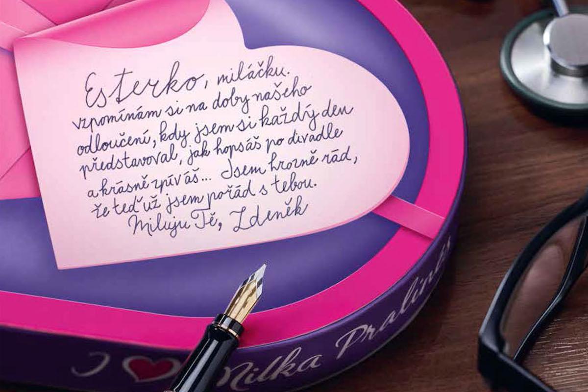 Valentýnská kampaň značky Milka