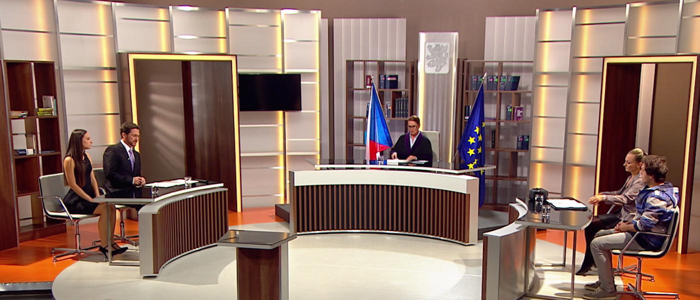Soudní síň. Foto: TV Prima