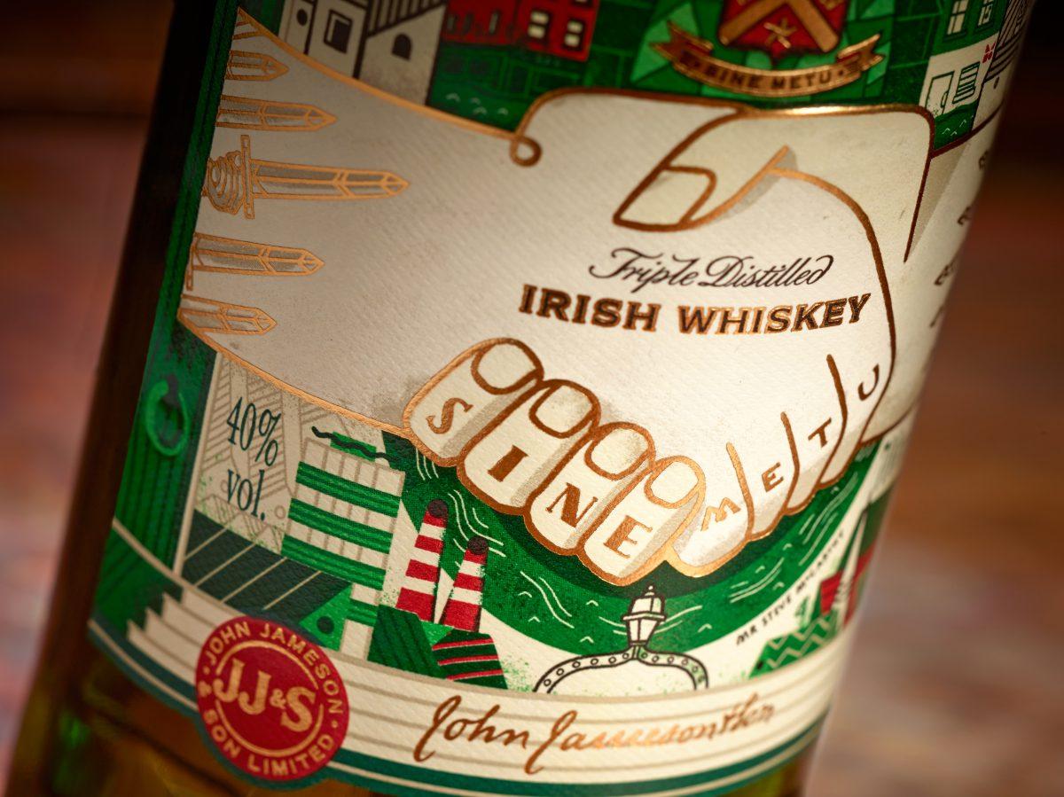 Nový design limitované edice Jamesonu. Foto: Eoin Holland