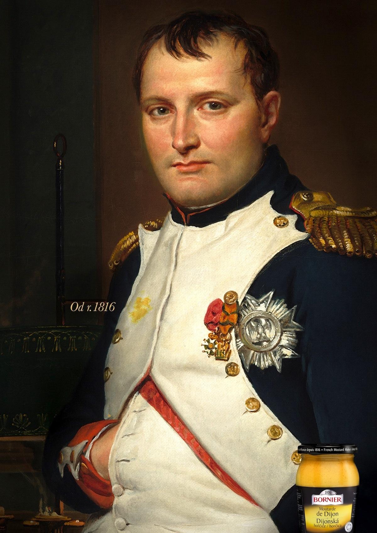 Napoleon Bonaparte se skvrnou od Bornier