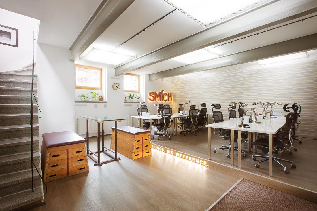 Kanceláře Loosers, prostor pro produkční tým