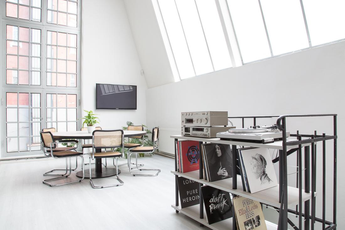 Kanceláře Loosers, prostor pro kreativní tým