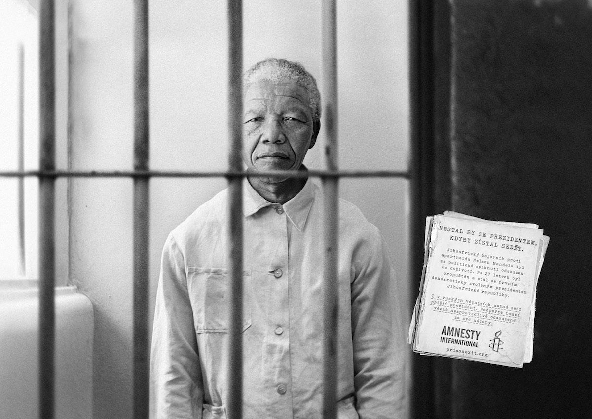 Nelson Mandela v kampani Amnesty International