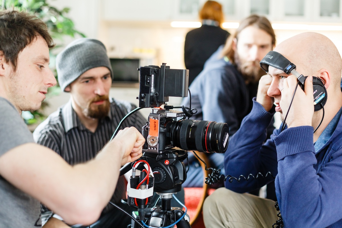 Seriál natáčí Lucky Man Films. Foto: Mafra - František Vlček