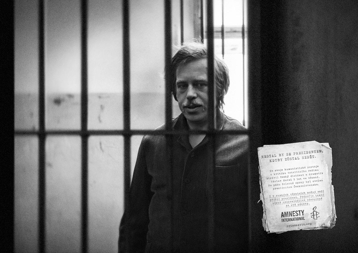 Václav Havel v kampani Amnesty International