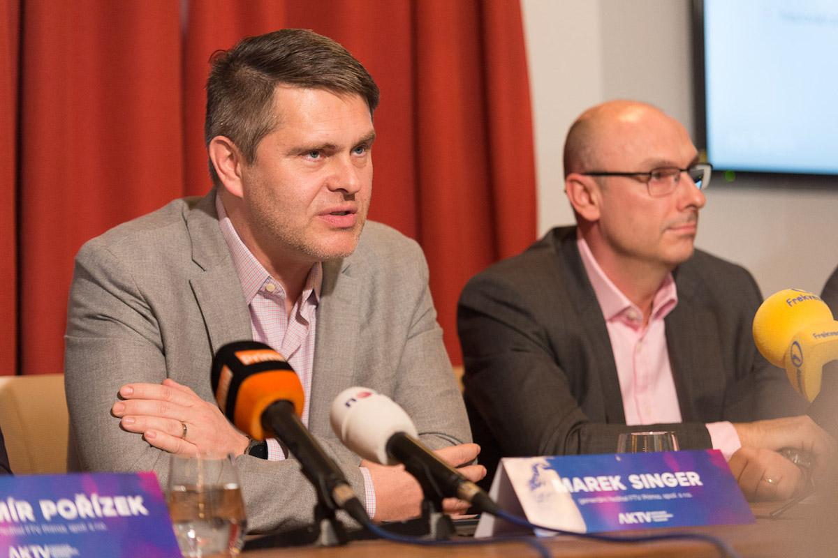 Marek Singer a Jan Vlček. Foto: Jakub Hrab