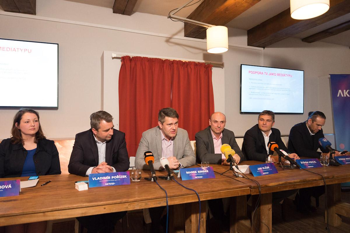 Představitelé nové asociace. Foto: Jakub Hrab