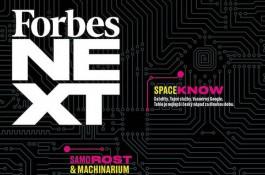 Čtvrtletník Forbes Next v pravidelném prodeji