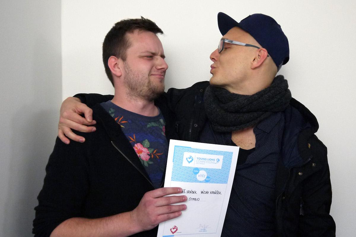 Vítězní Tomáš Hrábek a Václav Krbůšek. Foto: Lionhearted.cz