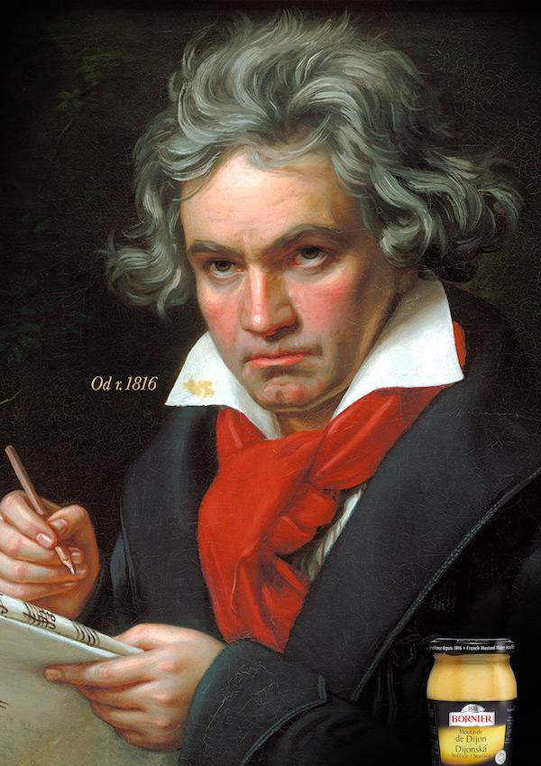 Ludwig van Beethoven se skvrnou od Bornier