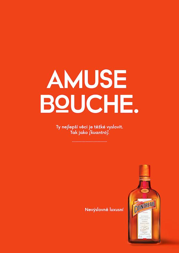 Kampaň na pomerančový likér Cointreau
