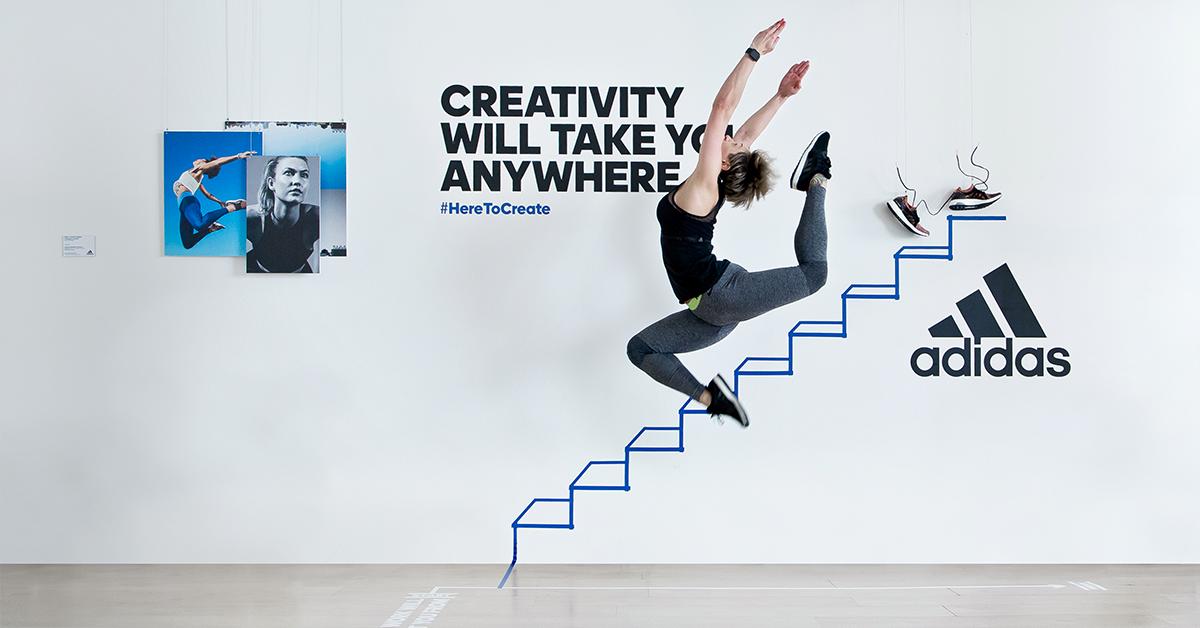 Kampaň Here To Create od Adidas
