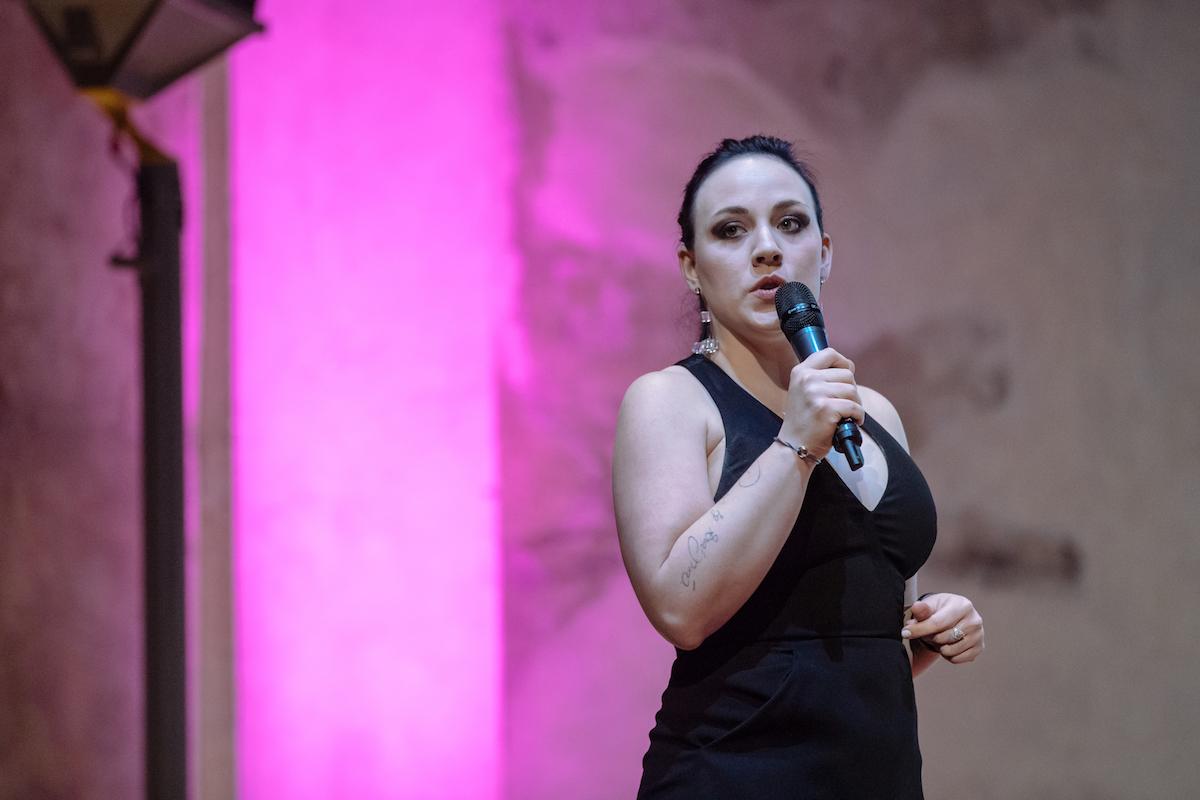 Kateřina Borovanská jako moderátorka