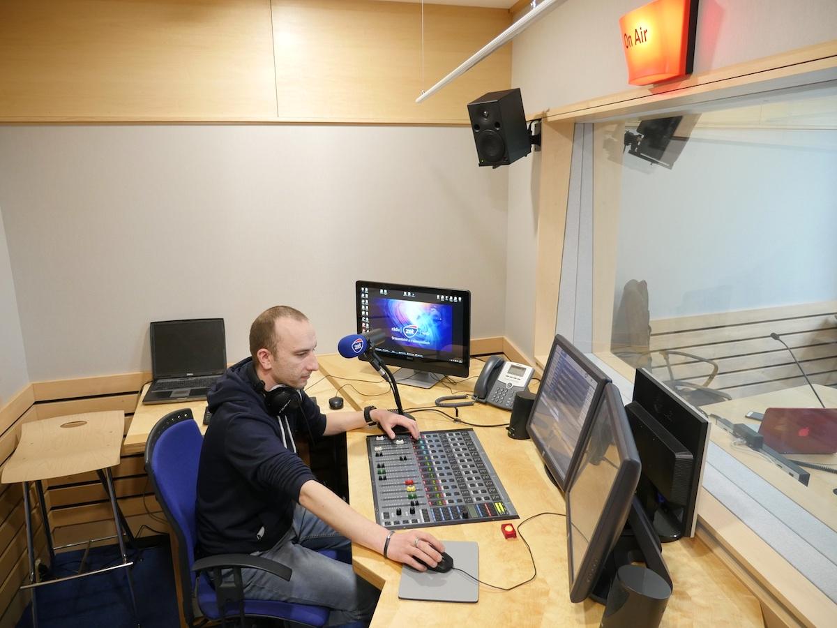 Nové studio rádia Zet