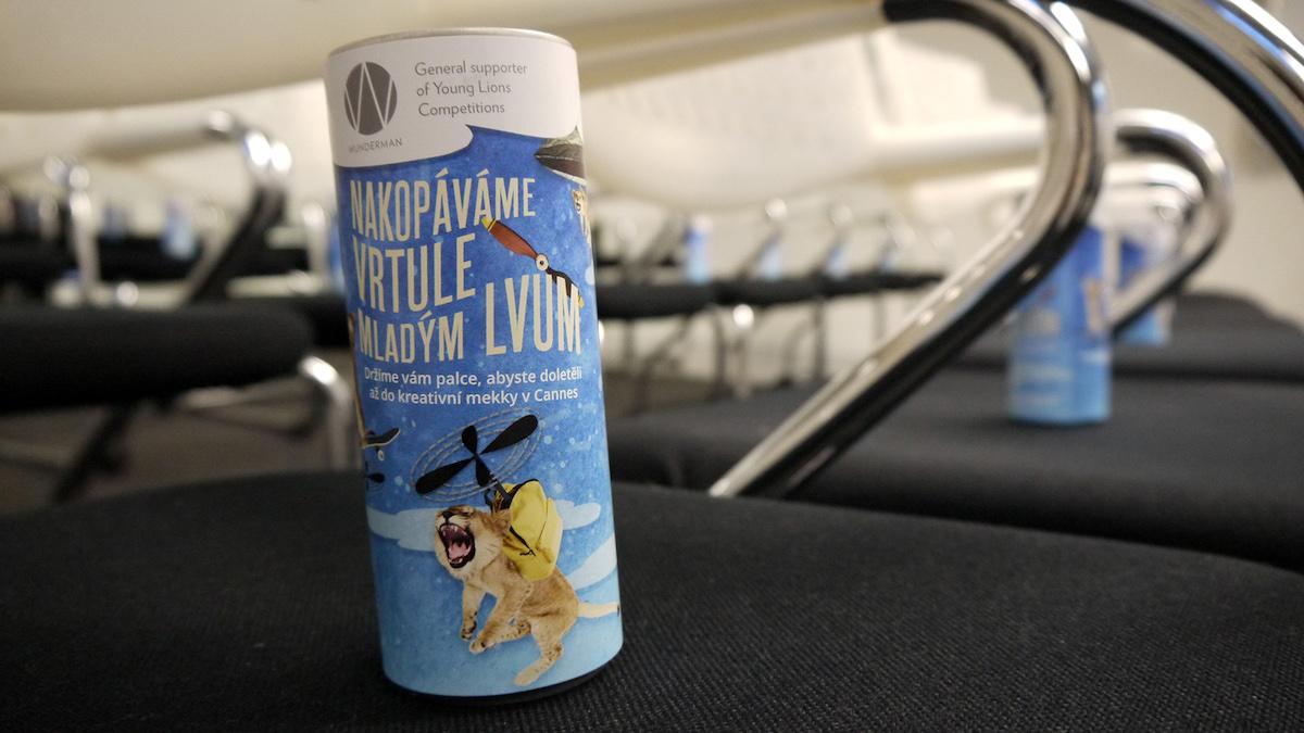 Partnerem letošních Young Lions je Wunderman, nachystal kampaň s vrtulemi. Foto: Honza Marcinek