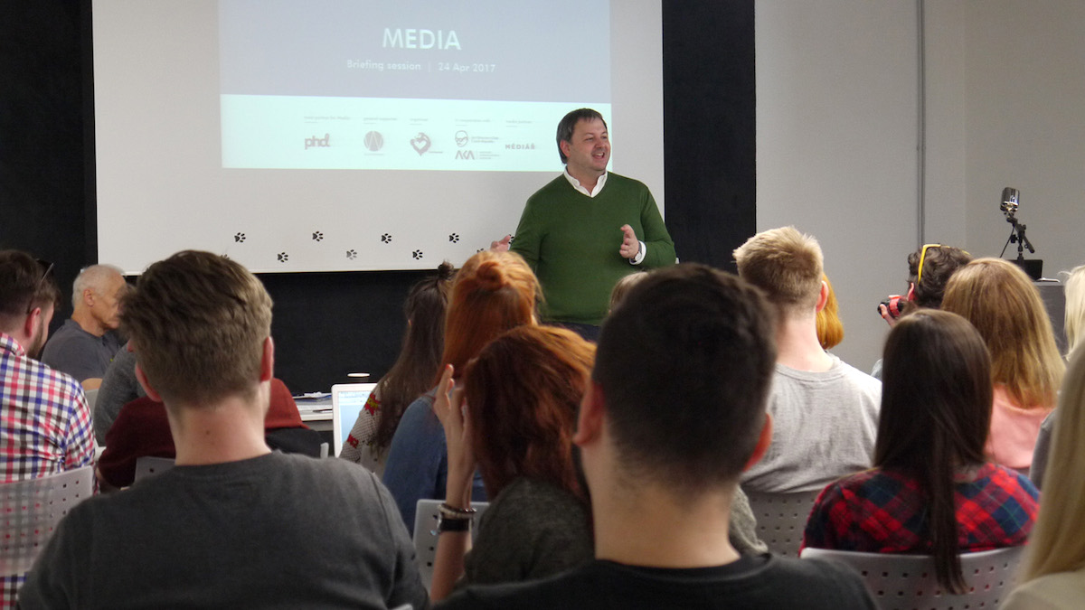 Z briefu kategorie Media. Foto: Honza Marcinek