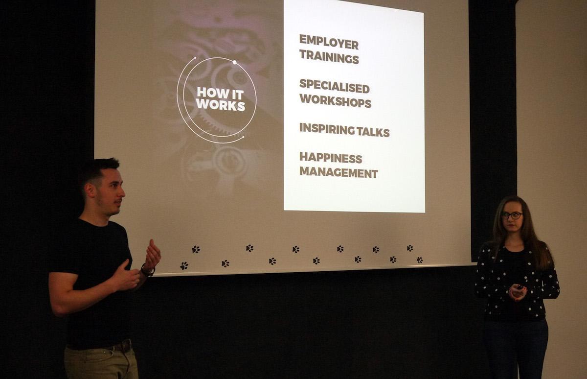 Z vyhlášení kategorie Media. Foto: Lionhearted.cz