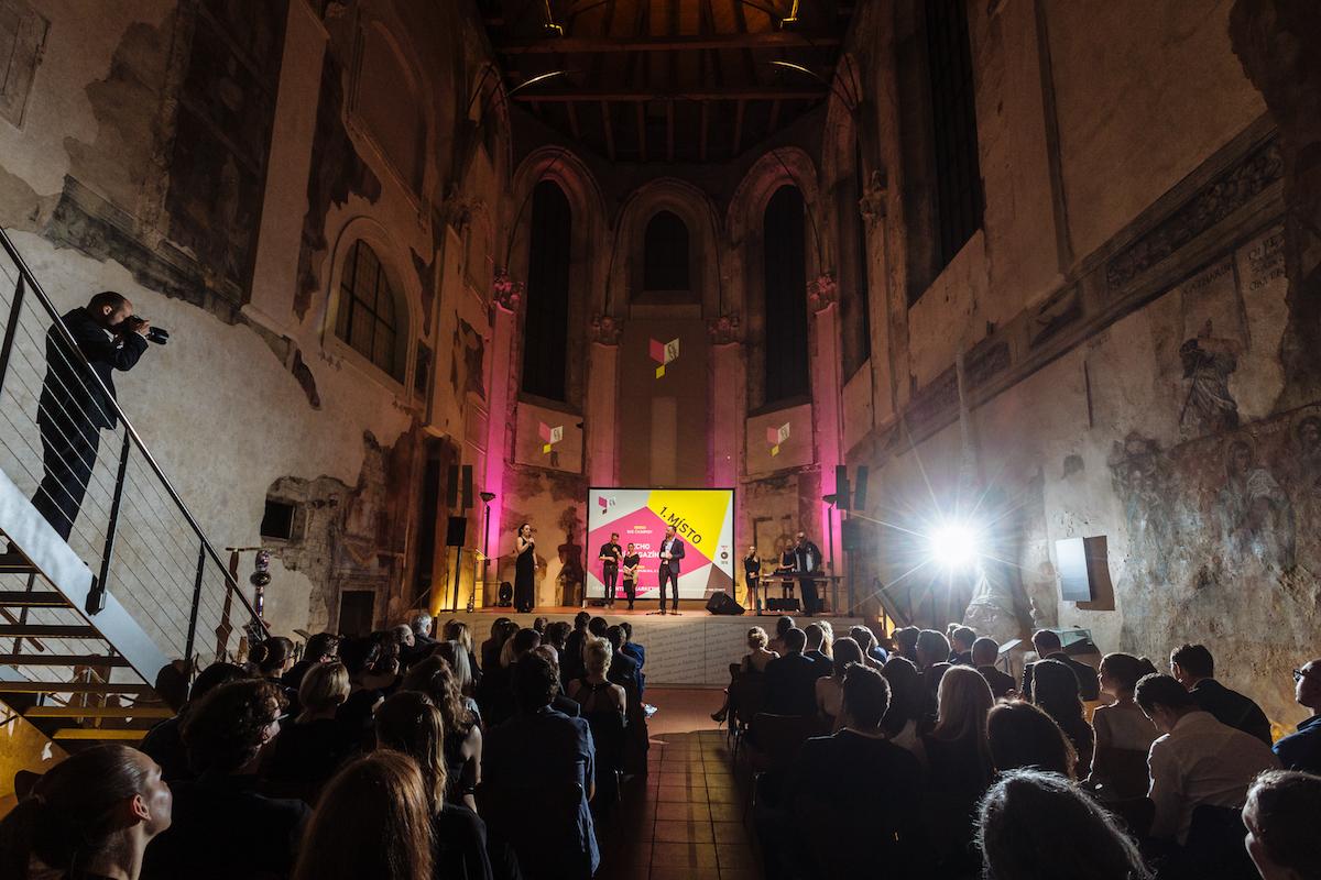 Slavnostní vyhlášení cen proběhlo v pražském kostele svaté Anny