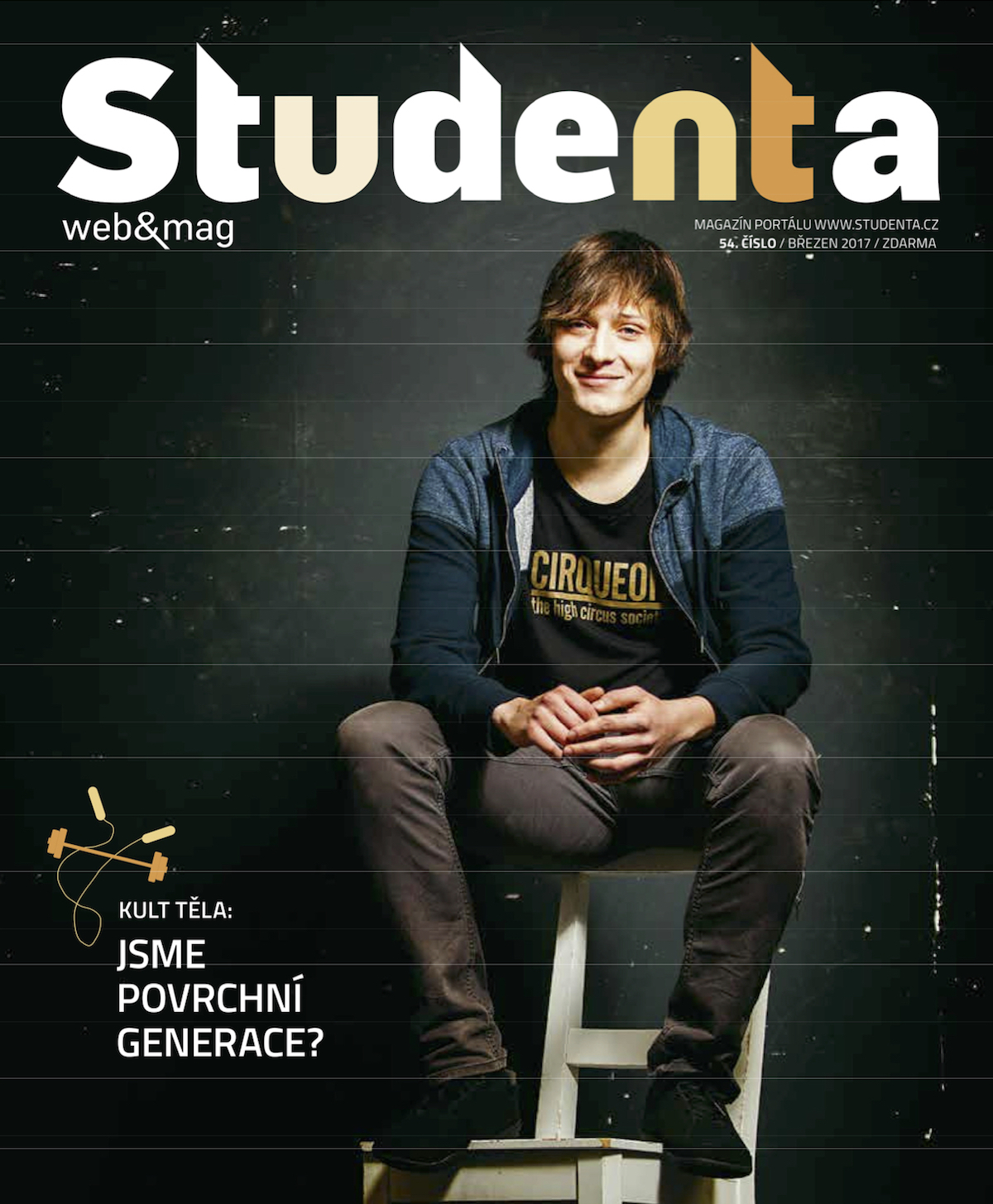 Obálka aktuálního vydání časopisu Studenta
