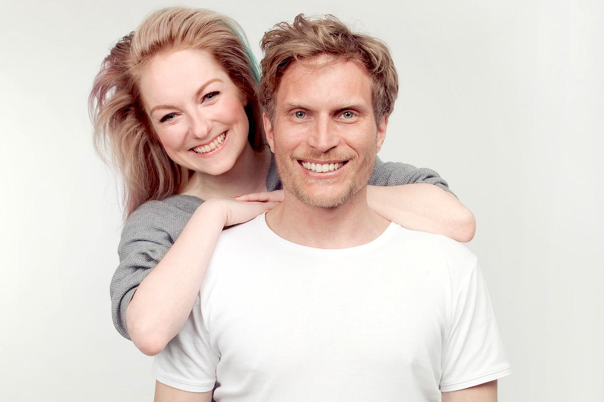Veronika Kokešová a Tomáš Zástěra