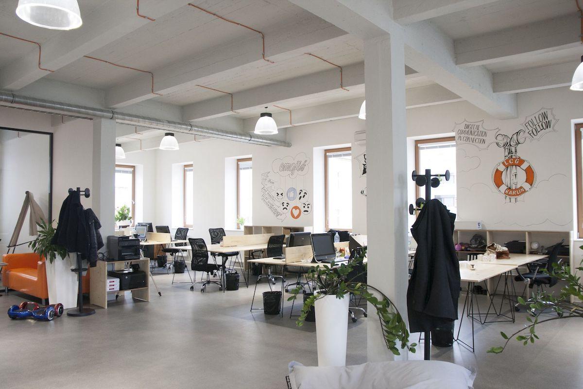 Nové kanceláře LCG New Media