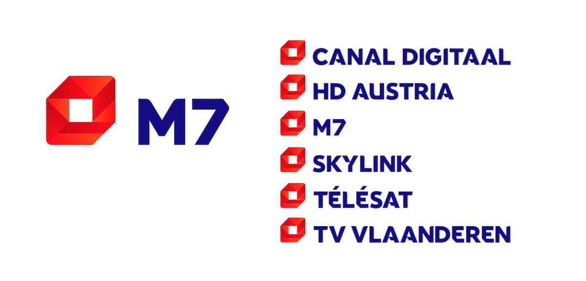Nová loga M7 Group a jejích platforem