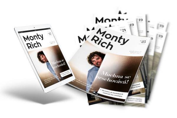 Tištěný MontyRich zvolňuje na dvouměsíčník