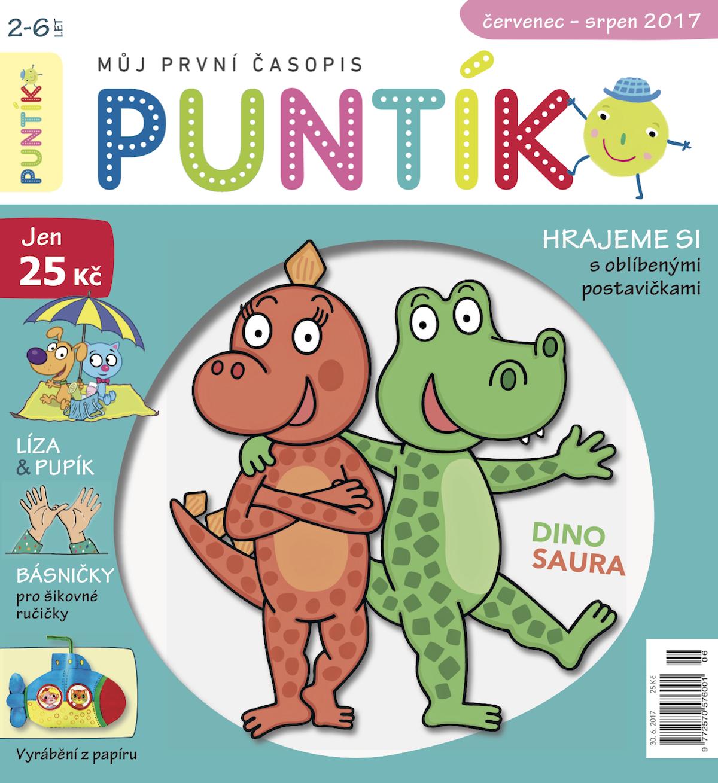 Titulní strana prvního vydání časopisu Puntík