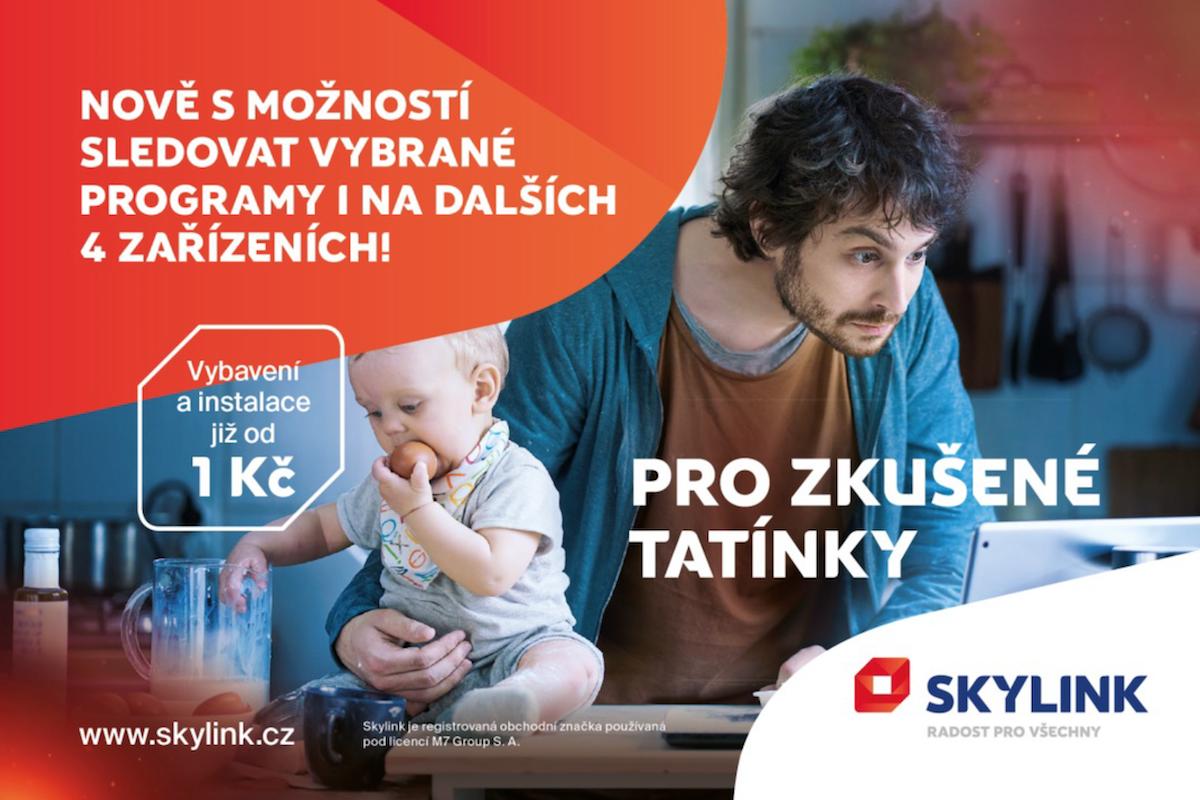 Inzerce Skylinku s novým vizuálem a logem