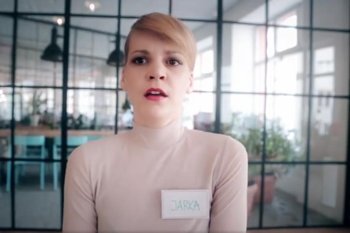 Zuzana Stavná ve spotu pro Whoop.de.doo
