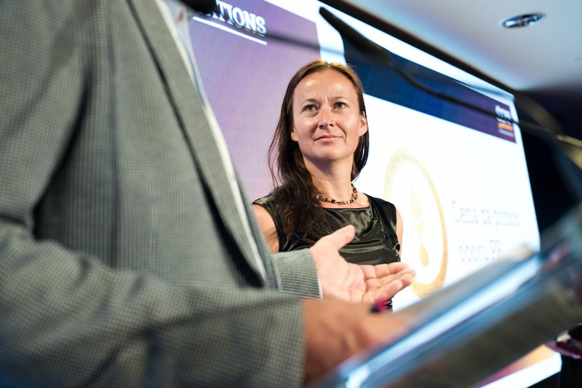 Organizaci večera měla na starosti výkonná ředitelka APRA Barbora Bělíková