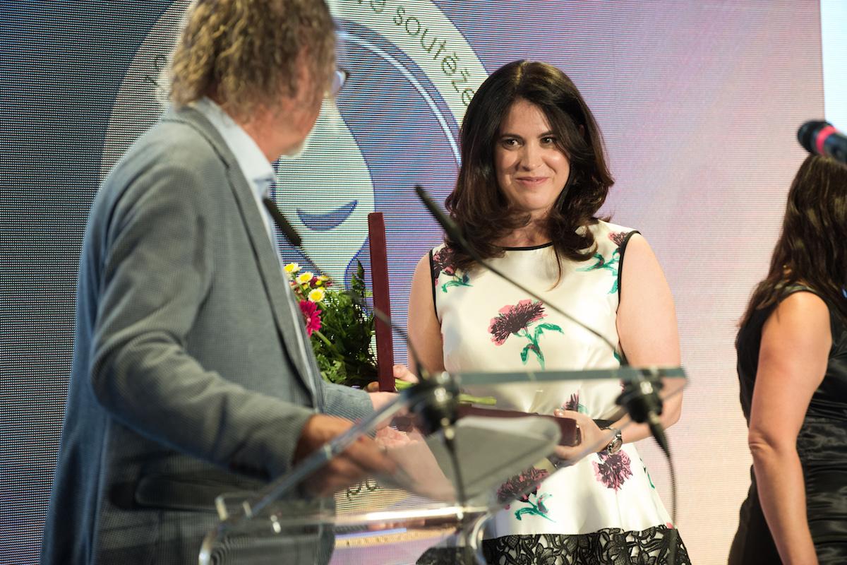 Denisa Hejlová oceněna za přínos oboru. Foto: David Bruner