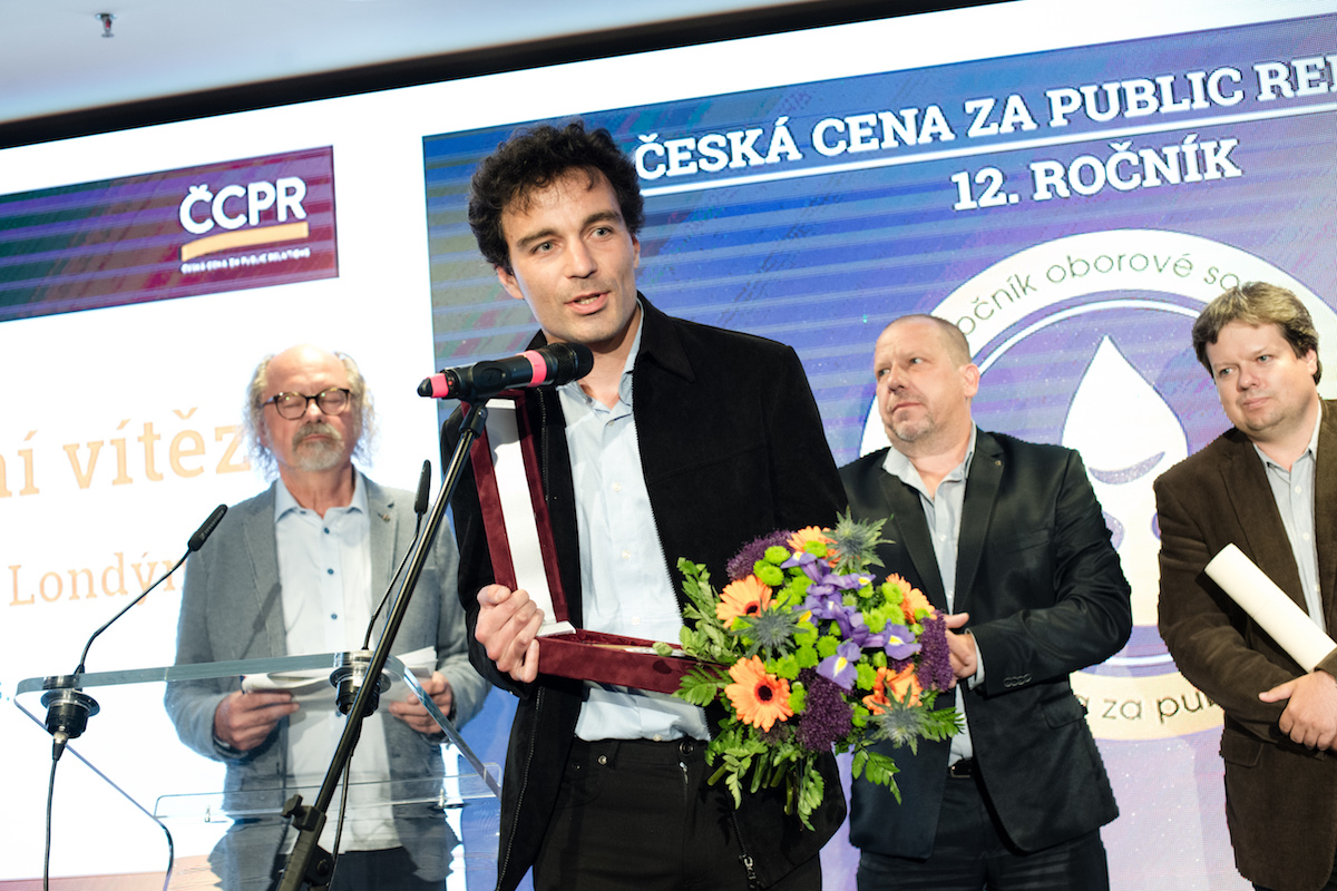 Martin Ježek z agentura Omnimedia děkuje za absolutní vítězství