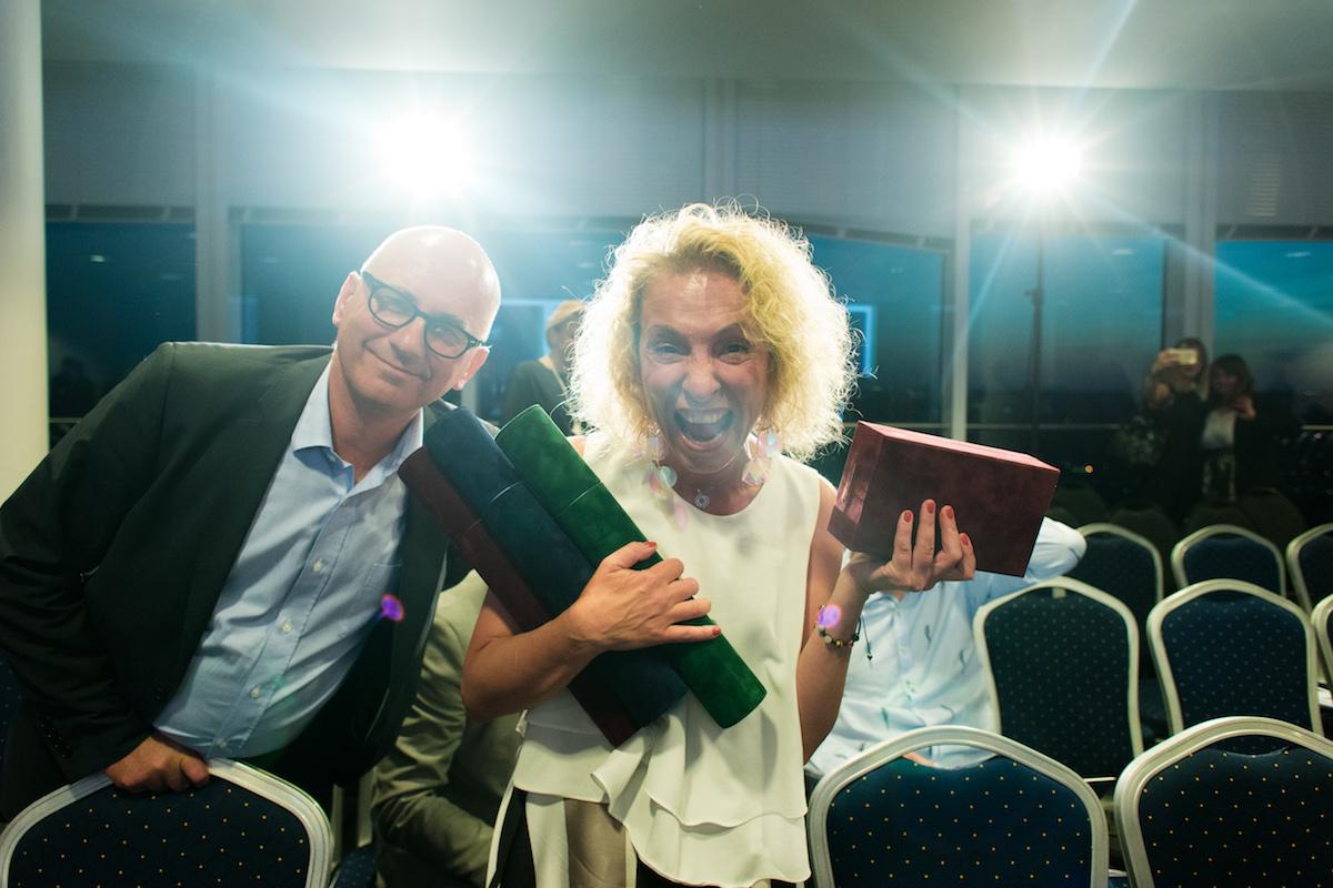Martina Kemrová z T-Mobilu se raduje za agenturu AC&C. Foto: David Bruner